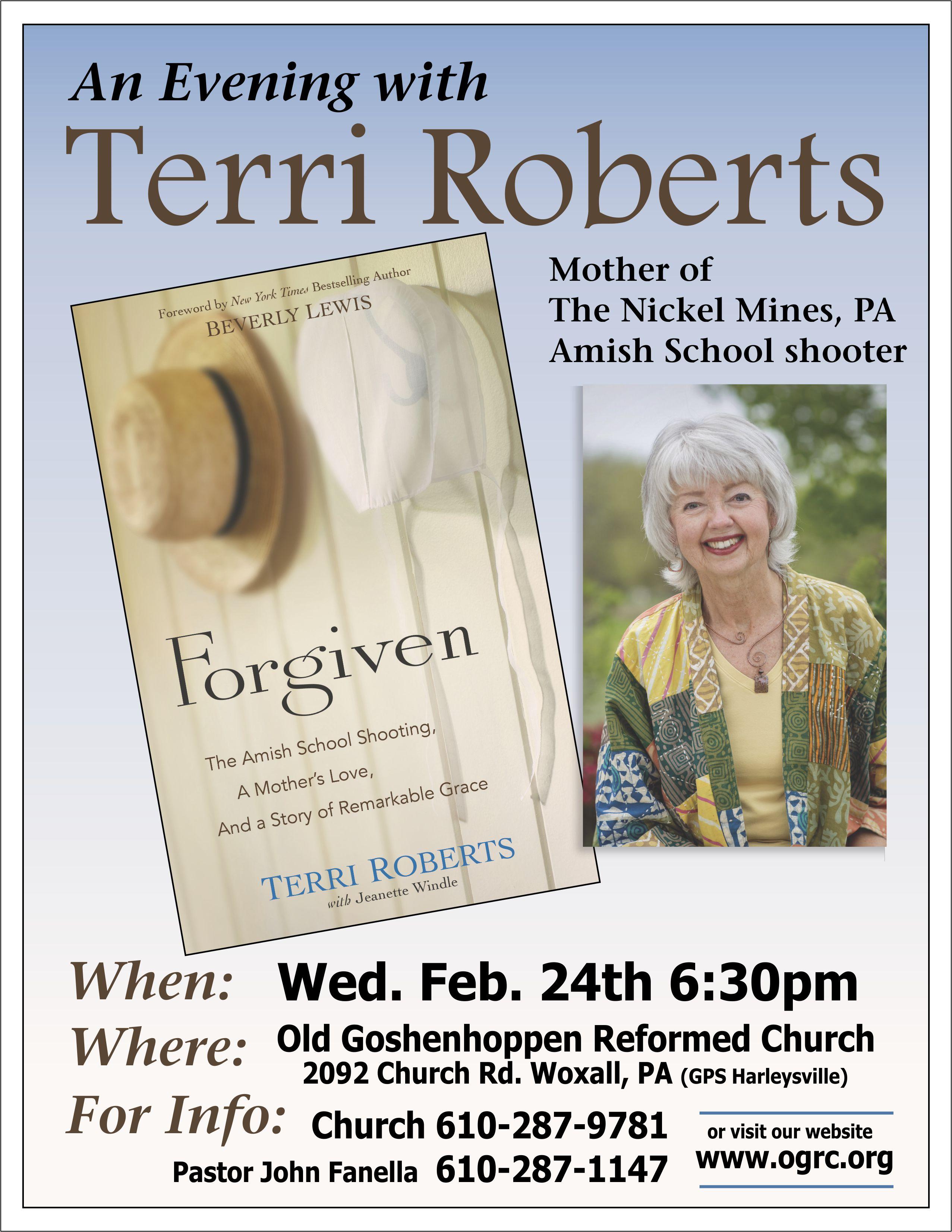 Terri Roberts Forgiven Poster